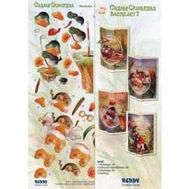 BASTELSETS / CRAFT KITS Bastelset Cream Quackers Emne: Hobby