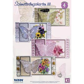 BASTELSETS / CRAFT KITS Kit Artisanat papillon cartes de vœux
