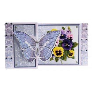BASTELSETS / CRAFT KITS Craft Kit Butterfly Lykønskningskort
