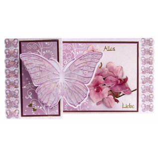 BASTELSETS / CRAFT KITS Craft Kit Farfalla Biglietti d'auguri