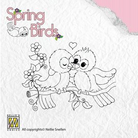 Nellie Snellen Clear stamps, spring birds