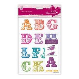 Docrafts / X-Cut Timbre avec de grandes lettres de A à M