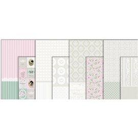 DECOUPAGE AND ACCESSOIRES Decoupage Papier, gamme Vintage, feuille 25x35 cm, 8 trier. Feuille
