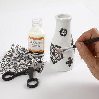 DESIGNER BLÖCKE / DESIGNER PAPER Decoupage papir, sortiment sort og hvid, ark 25x35 cm, 8 slags. Sheet, ark 25x35 cm, 8 slags. Sheet