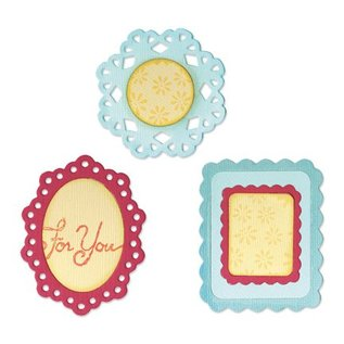 Sizzix Sizzlits medium - (3) Decorative Frames