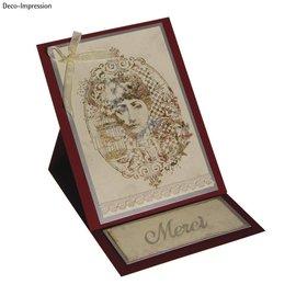 IndigoBlu Stamp A6: Mlle Austen, 140x110mm