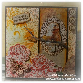 DESIGNER BLÖCKE / DESIGNER PAPER Designer Paperblock, Owls field, mit Eulen Motive