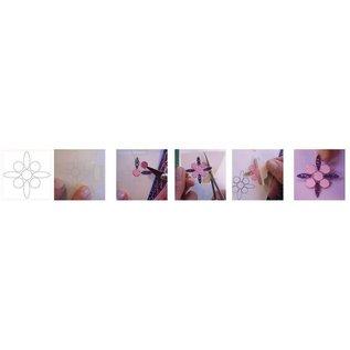 Ensemble Matériel: Anniversaire / Set de 6 cartes avec incandescent