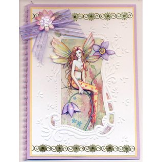 Fantasy Fairies 3D - 1 (incl. stickers) 3D Buch + 6 Bogen mirror stickers