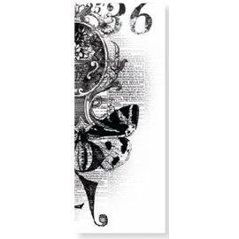 Kaisercraft und K&Company Clear stempels Kaiser Craft, nostalgische ontwerp met vlinder