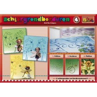 Bücher und CD / Magazines A book with 16 color the background with embroidery!