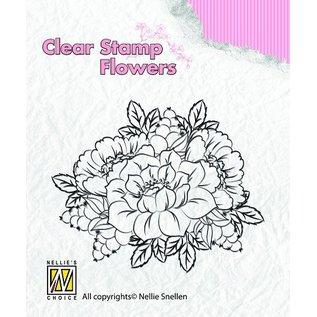 Nellie Snellen Transparent Stempel, Blumen