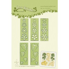 Leane Creatief - Lea'bilities Lea'bilitie® Small flowers & leaves embossing and cutting template