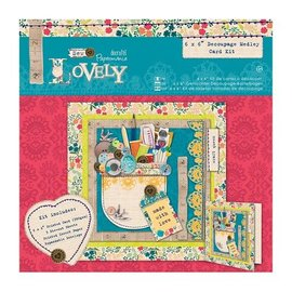Docrafts / Papermania / Urban Decoupage Medley Card Kit - Sew Lovely