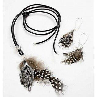 Embellishments / Verzierungen Parelhoen veren, ongeveer 100 st., Nature, 3 g