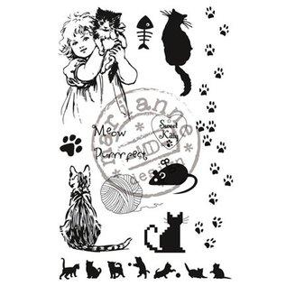 Marianne Design Transparent Stempel, sweet Kitty