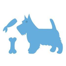 Marianne Design Embossing en snijmat, hond