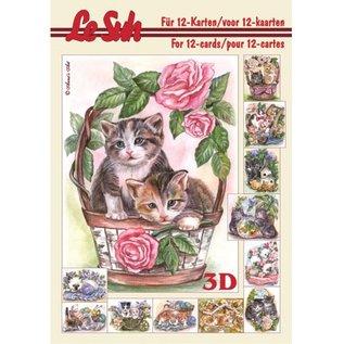 Bücher und CD / Magazines 3D Paper A5, CATS