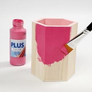 Objekten zum Dekorieren / objects for decorating Bastelset: pen holder til maling og dekorere med glitter stickers