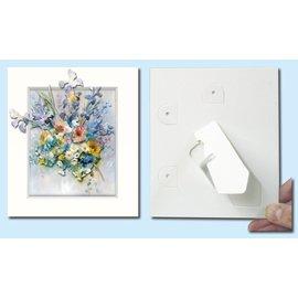 KARTEN und Zubehör / Cards Passepartout f. Cartoline artistiche, 3 in un set