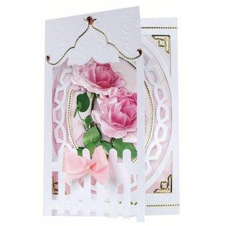 BASTELSETS / CRAFT KITS Bastelset: Rete fissa Carte Roses