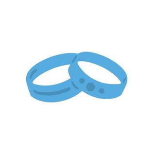 Marianne Design Punching and embossing template Wedding rings