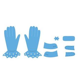 Marianne Design Marianne Design, Stanz- und Prägeschablone, Tiny's Gloves