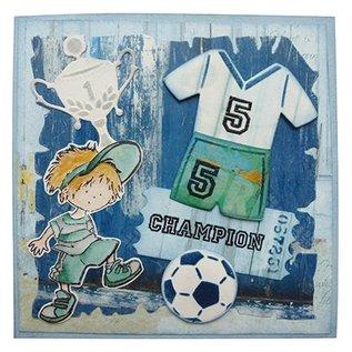Marianne Design Marianne Design, Stanz- und Prägeschablone, Collectables, Fussbal