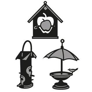 Marianne Design Marianne Design, stempling og prægning stencil, Craftables - Lillebrors Birdhouse