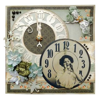 Marianne Design Marianne Design, stamping and embossing stencil, Craftables - Craftables clock