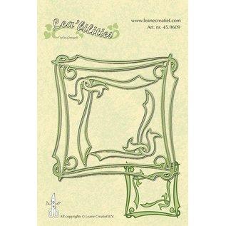 Leane Creatief - Lea'bilities Lea'bilities, prægning og skæring skabelon, Elegant Frame