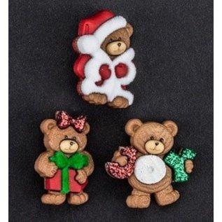 Embellishments / Verzierungen Habillez-le, décorations, Charms, ajoutez-s - Bears de Noël