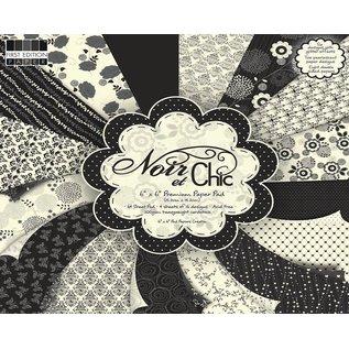 """DESIGNER BLÖCKE / DESIGNER PAPER Designerblock """"Noir et Chicc"""" von First Edition Paper"""