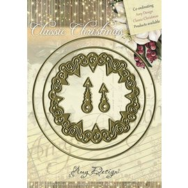 AMY DESIGN Amy design, die cutting and embossing stencil - Classic Clock