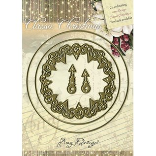 AMY DESIGN Design Amy, stansning og prægning stencil - Classic Ur