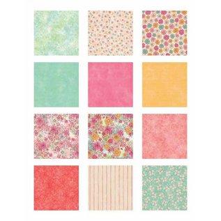 DCWV und Sugar Plum DCWV Designersblock, 30,5 x 30,5 cm, 180 feuilles !!