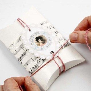 Dekoration Schachtel Gestalten / Boxe ... Carton, LxBxH 10x8x2 cm, 10 stk