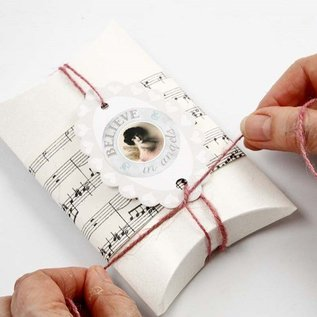 Dekoration Schachtel Gestalten / Boxe ... Faltschachtel, LxBxH 10x8x2 cm, 10 Stck
