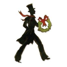 Sizzix Sizzix Bigz, snijmat, Vicorianische Kerstmis