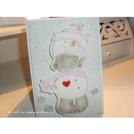 Me to You Clear stamps + embossing folder! Me to You, Winter Wonderland
