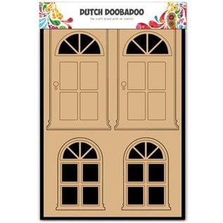 Objekten zum Dekorieren / objects for decorating MDF Dutch DooBaDoo,  Tur und Fenster