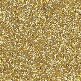Moosgummi und Zubehör Schiuma foglio di gomma glitter, 200 x 300 x 2 mm, in oro