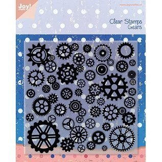 Joy!Crafts / Jeanine´s Art, Hobby Solutions Dies /  Transparent Stempel, Rädchen, Joy Crafts