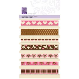 "Cart-Us Decorative ribbons, ""sweet"" Cart-Us, 7 x 1mtr"
