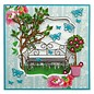 Marianne Design Embossing and cutting template, garden bench