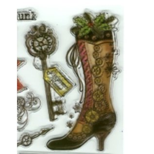 VIVA DEKOR (MY PAPERWORLD) Transparent Stempel, SteamPunk1, Viva Decor