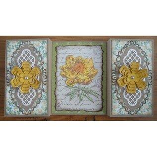 Joy!Crafts / Hobby Solutions Dies Klare stempler, Old Letter Rose