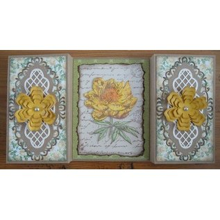 Joy!Crafts / Hobby Solutions Dies Transparent Stempel, Old Letter Rose