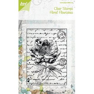 Joy!Crafts / Jeanine´s Art, Hobby Solutions Dies /  Transparent Stempel, Old Letter Rose