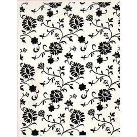 embossing Präge Folder Pastas de gravação, cottage floral, A6, 14,8 x 10,5 centímetros